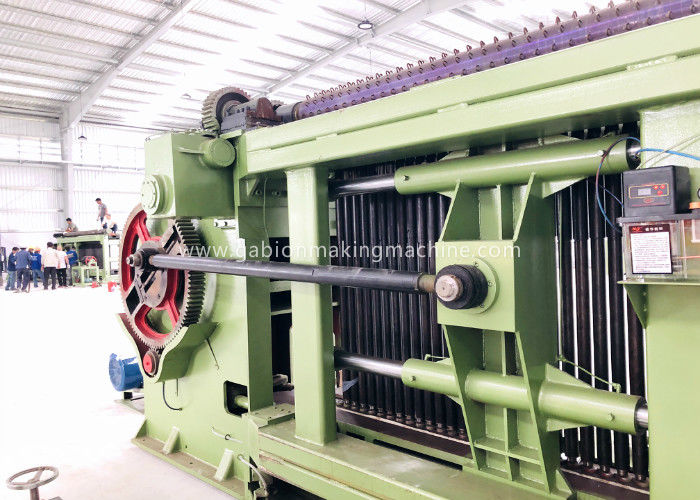 Spiral Coil Twisted Gabion Wire Mesh Machine with Siemens PLC Control System